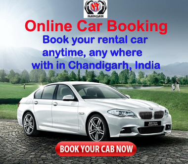 Car Rental Company Taxi Service In Chandigarh Nanuantravels